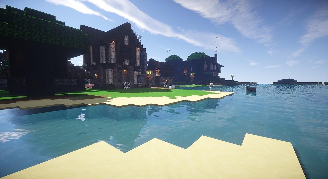 Ảnh đẹp biệt thự Minecraft