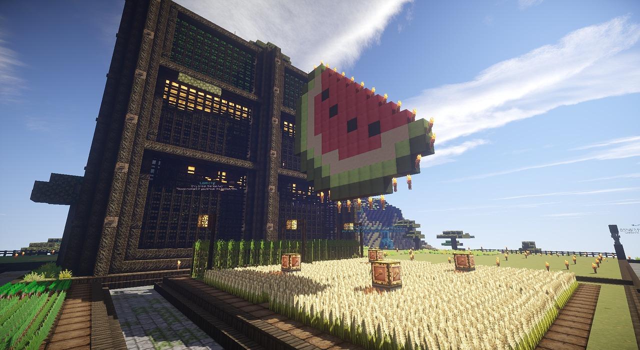 Ảnh đẹp nông trại Minecraft