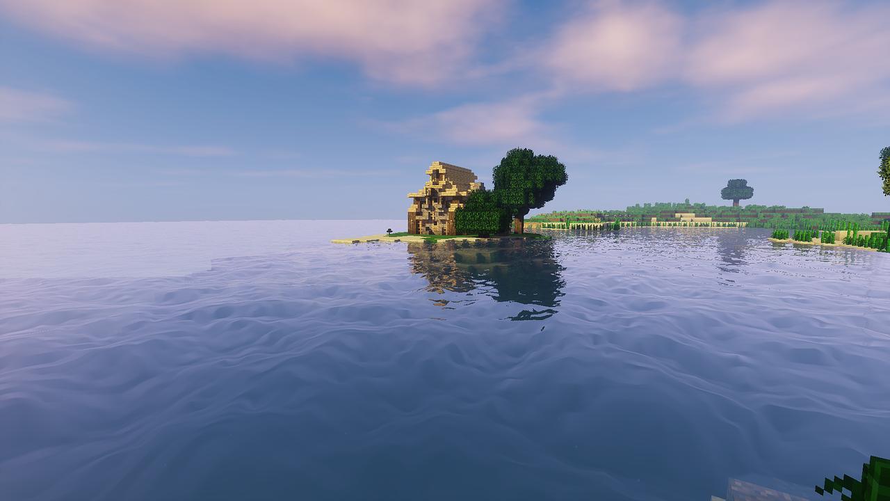Ảnh đẹp phong cảnh Minecraft