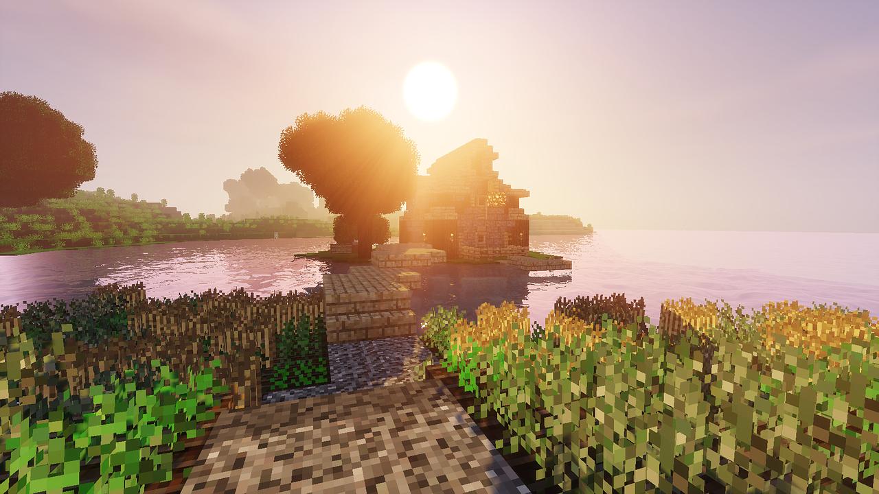 Ảnh Minecraft phong cảnh
