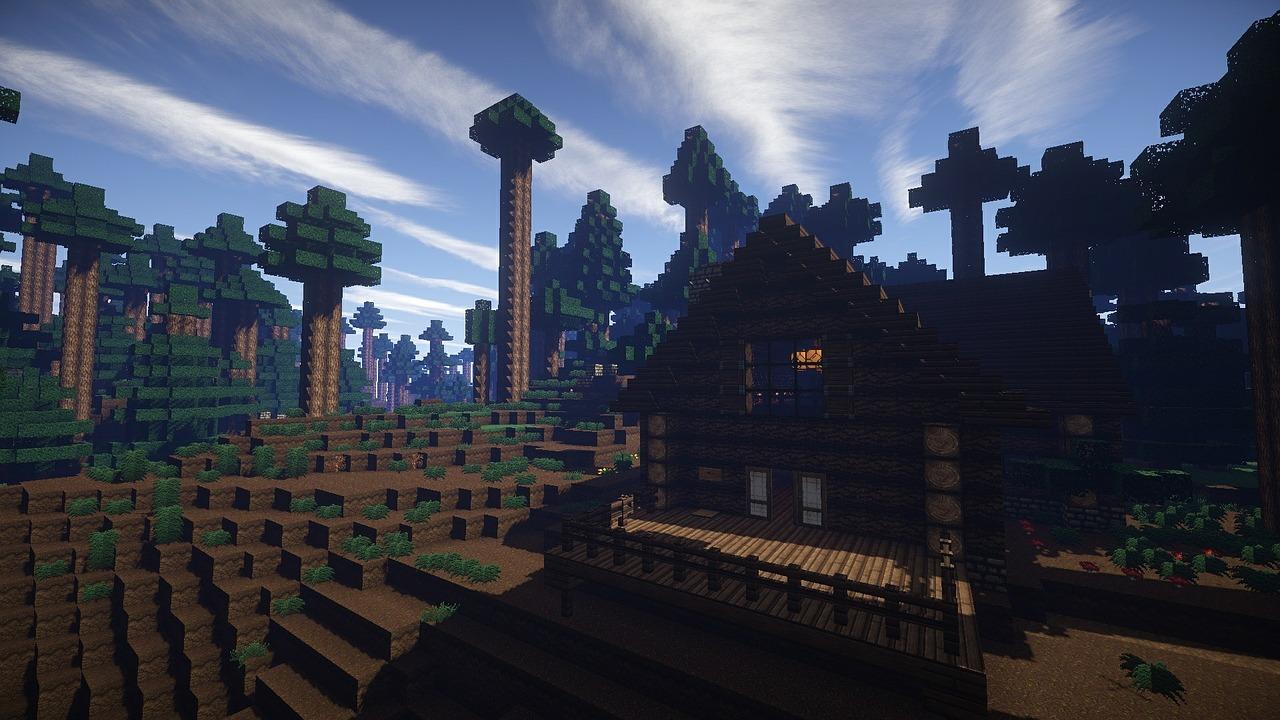 Hình đẹp Minecraft sinh tồn