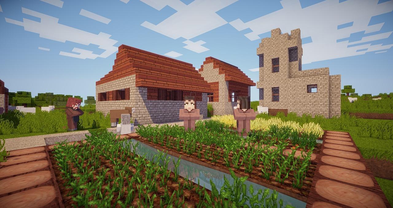 Làng trong Minecraft