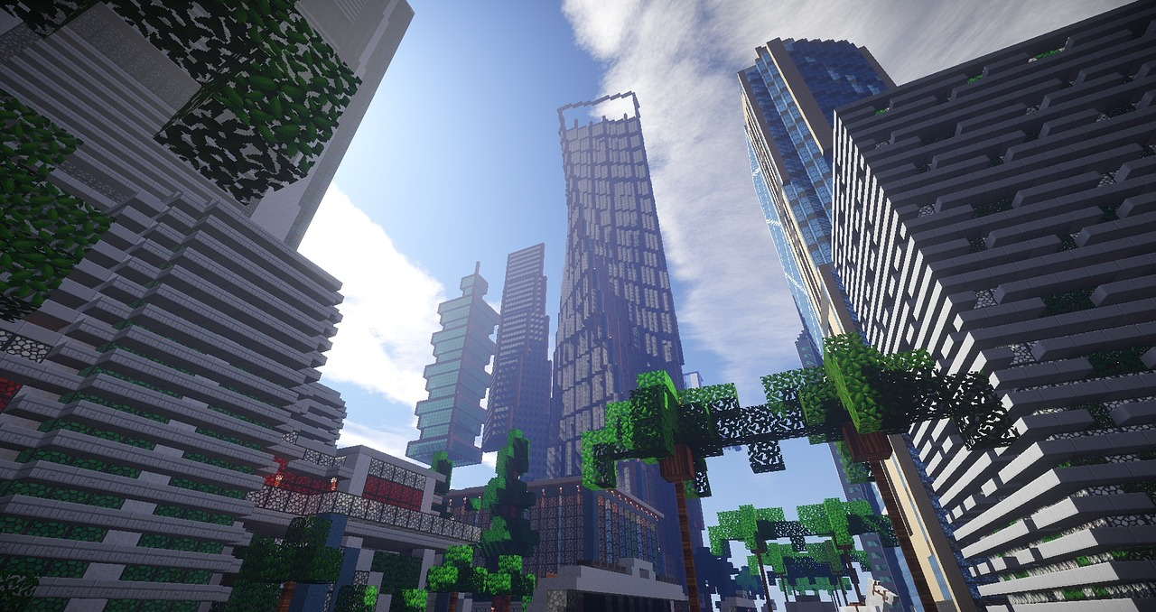 Thành phố Minecraft đẹp