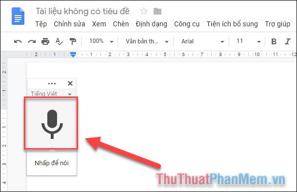 Cách chuyển giọng nói thành văn bản trên máy tính (3)