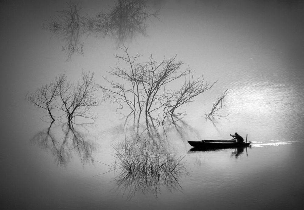 Hình ảnh đen trắng về cuộc sống