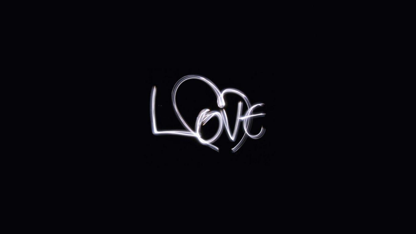 Hình ảnh trắng đen về tình yêu