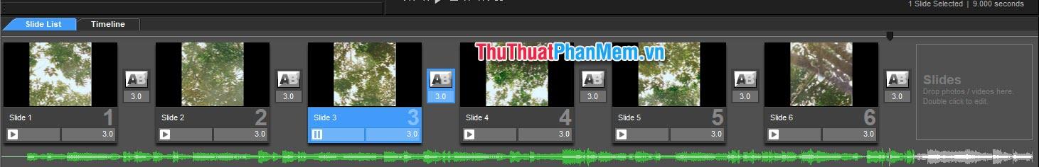 Phần âm thanh đang dài hơn phần video