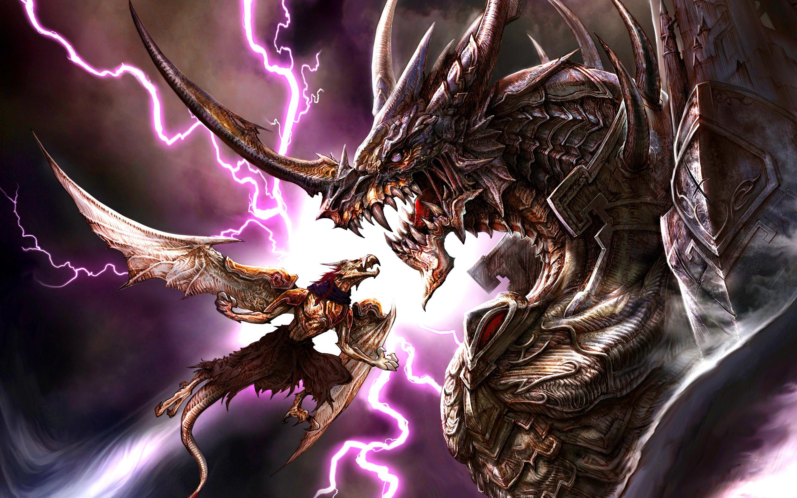 Hình nền rồng chiến đấu