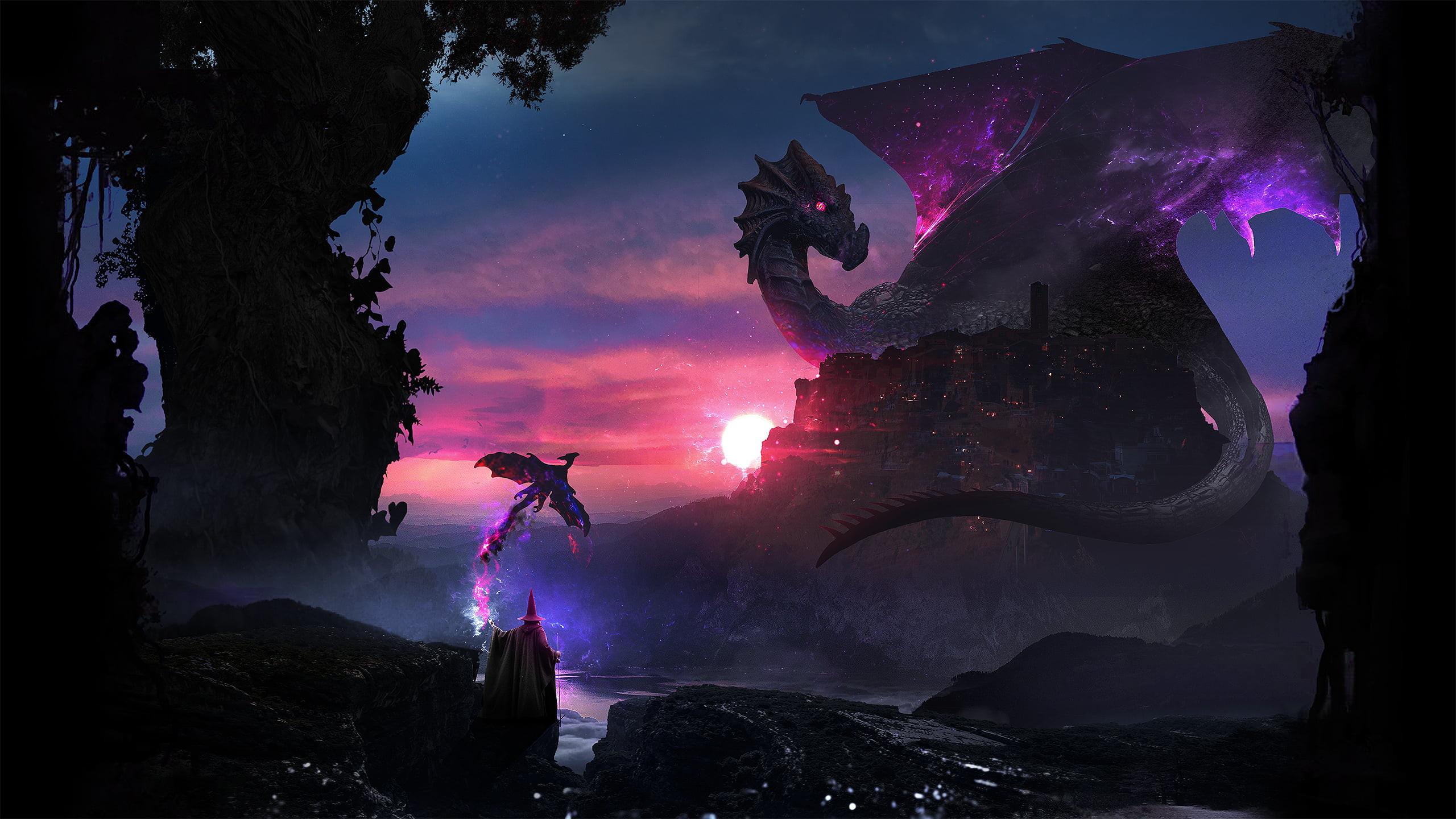 Hình nền Rồng đáng sợ