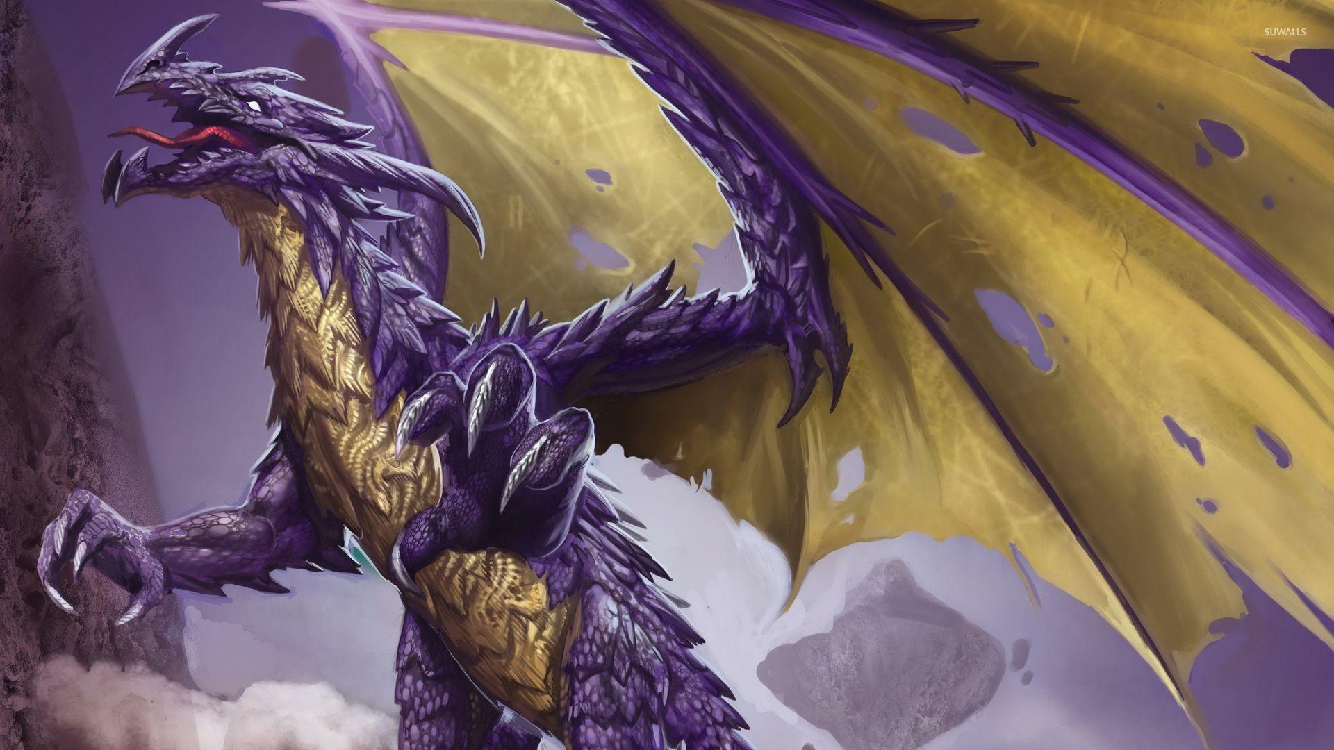 Hình nền rồng đang thét