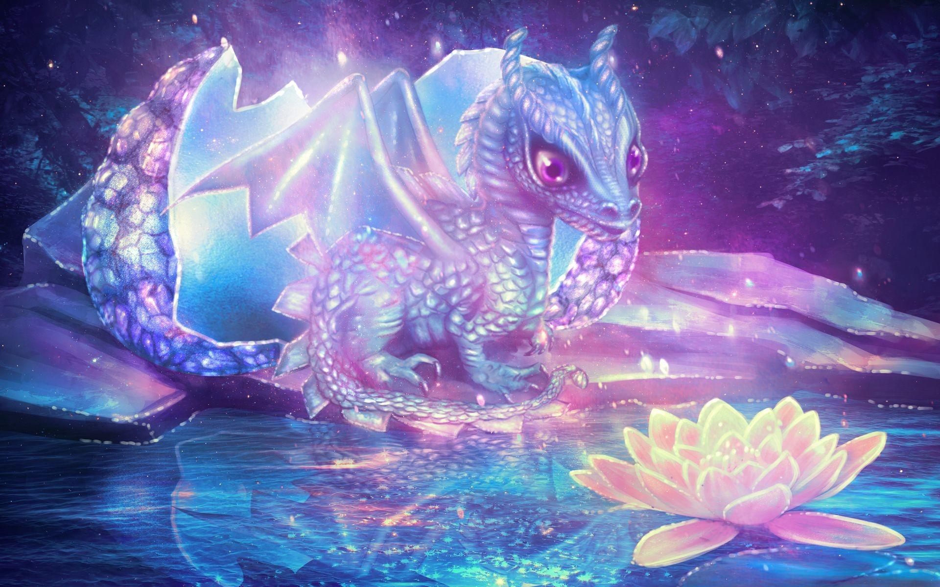 Hình nền rồng đáng yêu