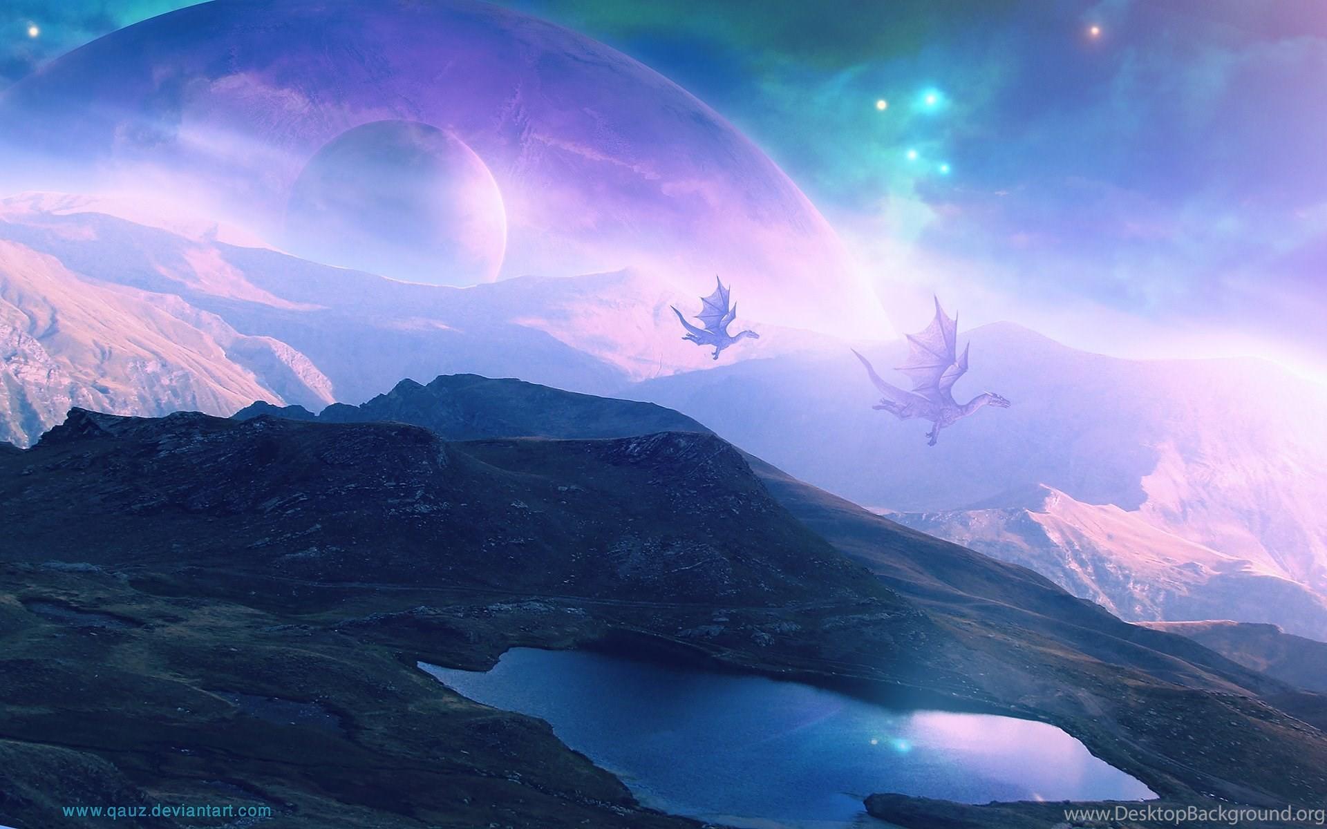 Hình nền rồng mơ mộng