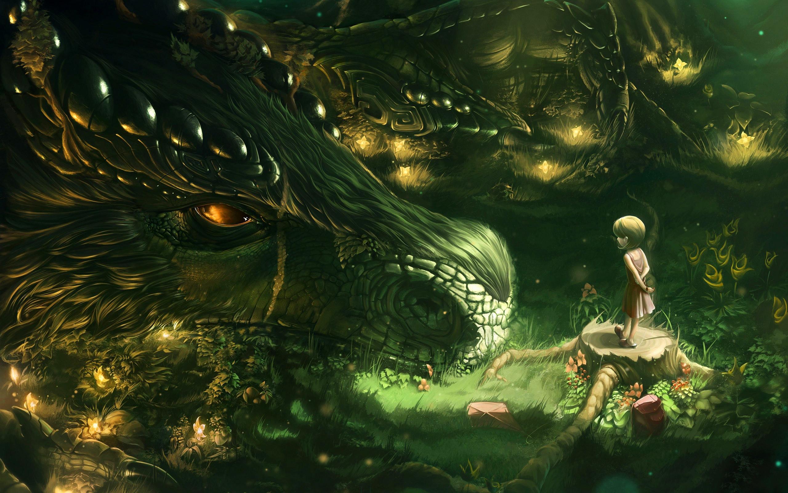 Hình nền rồng thiên nhiên