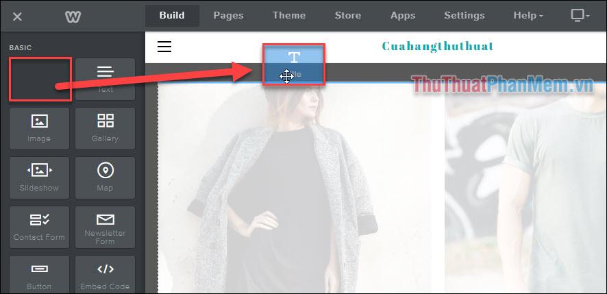 Làm quen với thao tác xây dựng website của Weebly (5)
