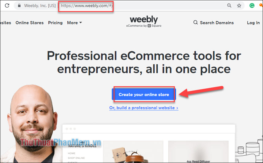 Tạo website với Weebly (1)