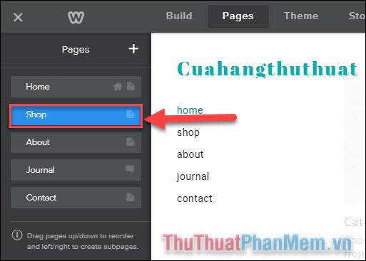 Thiết lập các trang trên website của bạn (4)