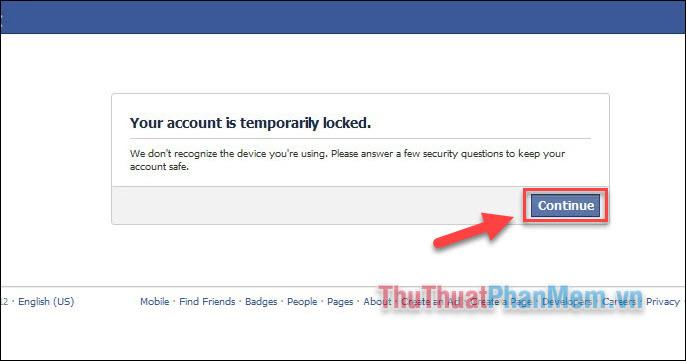 Mở khóa tài khoản Facebook bị khóa tạm thời (1)