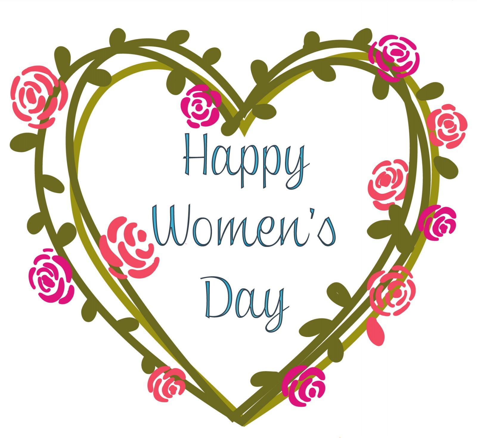 Thiệp chúc mừng ngày phụ nữ Happy Womens Day