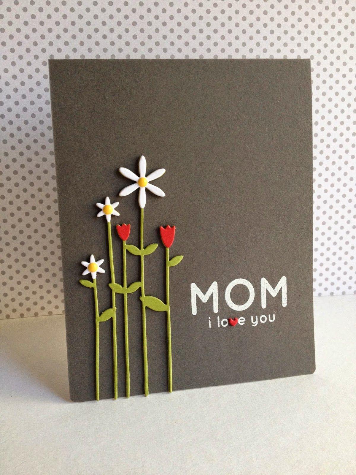 Thiệp mừng mùng 8 tháng 3 cho mẹ