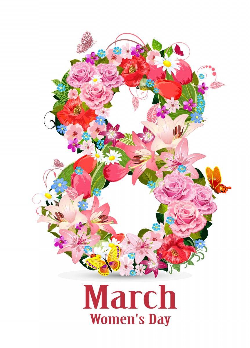 Thiệp mừng ngày quốc tế phụ nữ