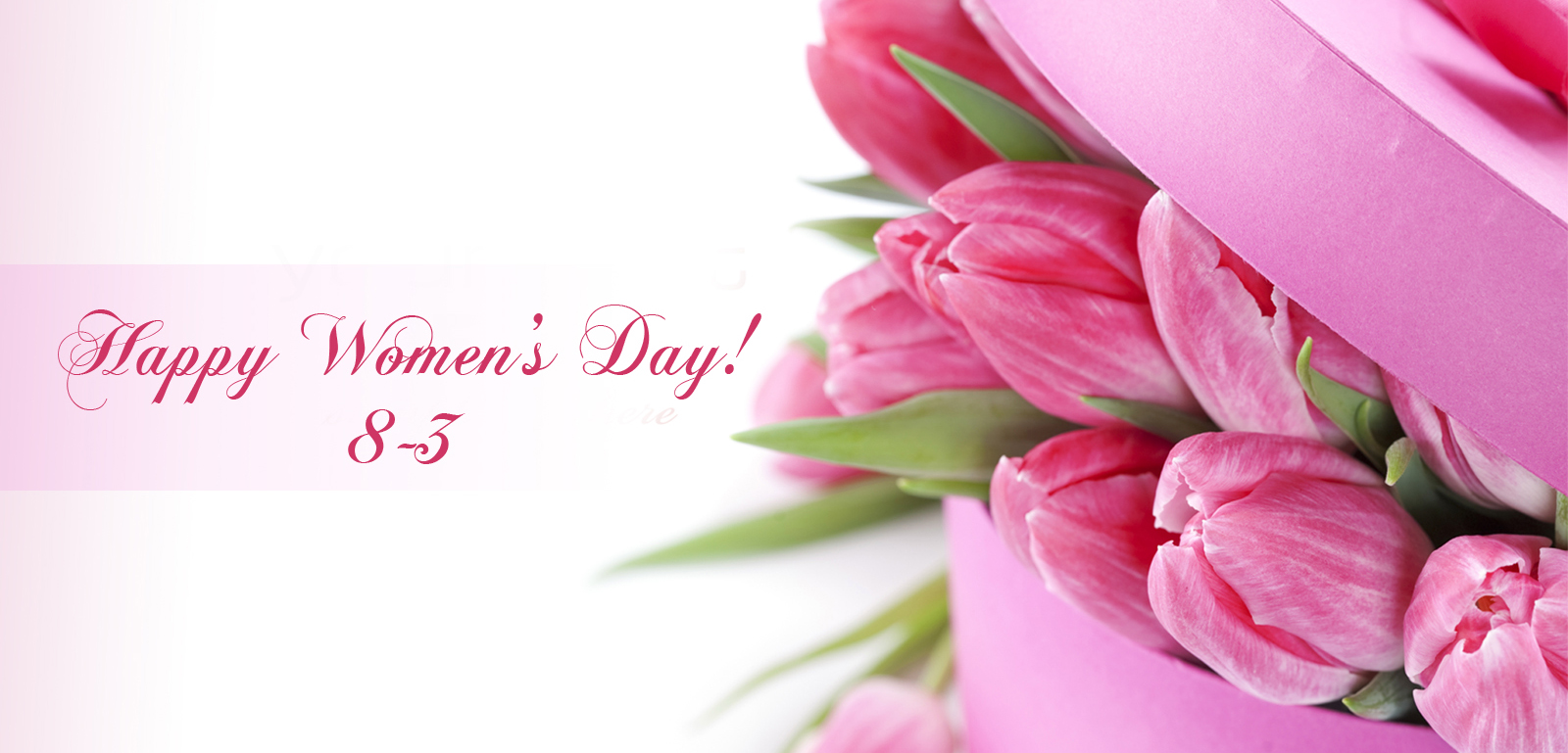 Thiệp mùng tám tháng hoa với hoa ly