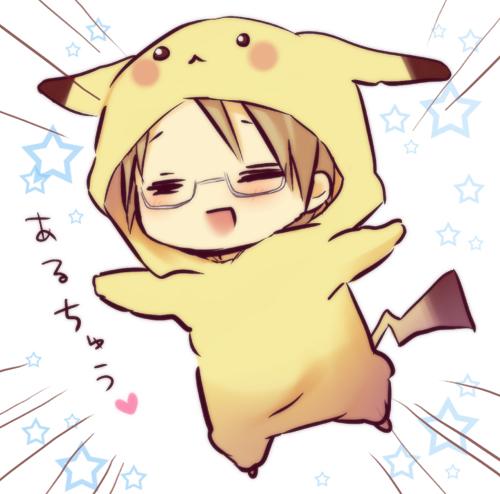 Ảnh anime cosplay Pikachu