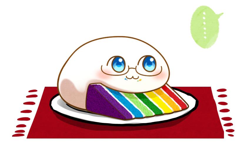 Ảnh anime cục bột ham ăn đáng yêu