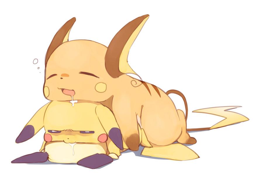 Ảnh anime dễ thương 3 con Pikachu ở 3 cấp bậc