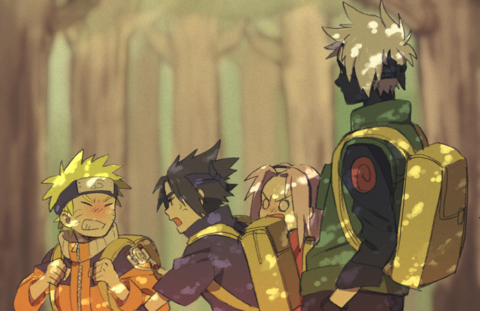 Ảnh anime hồi ức đáng yêu của đội 7