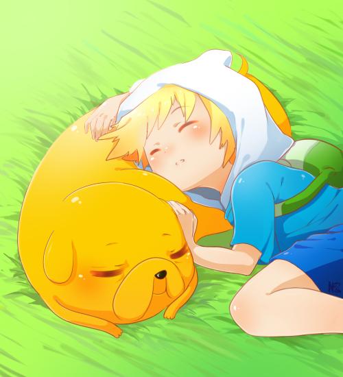 Ảnh anime Jake theo Dog đáng yêu
