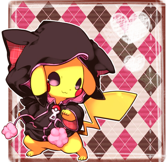 Ảnh anime Pikachu đáng yêu trong mọi bộ đồ