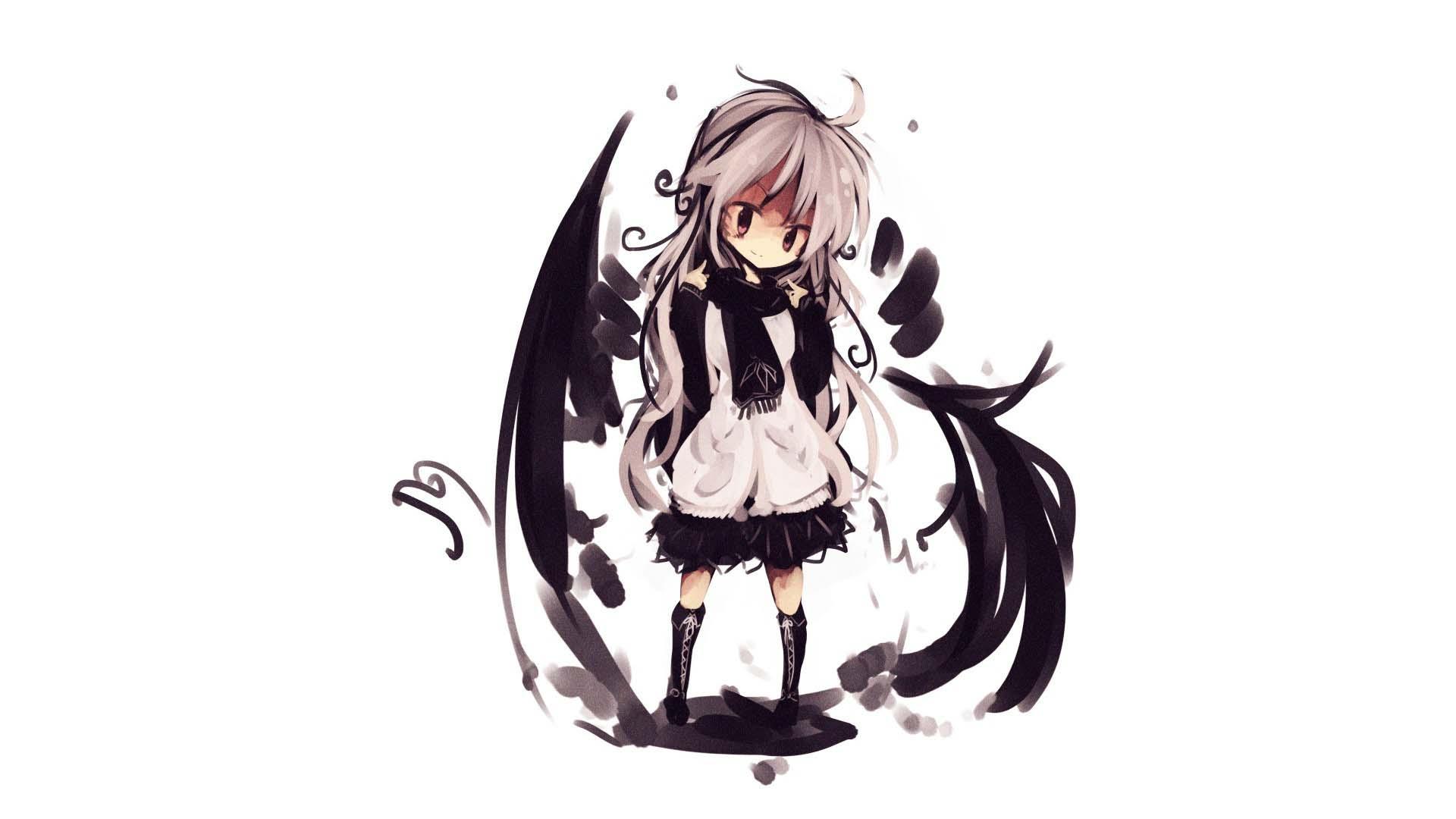 Hình anime nữ cô gái đáng yêu