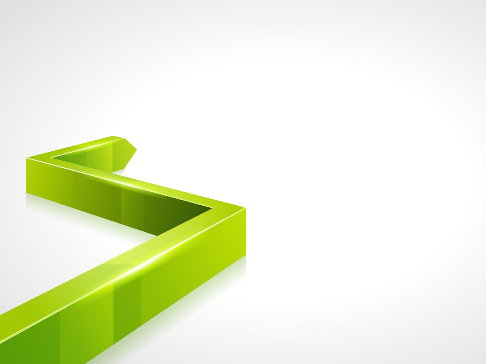 Hình nền Powerpoint 3d đường tăng trưởng đẹp