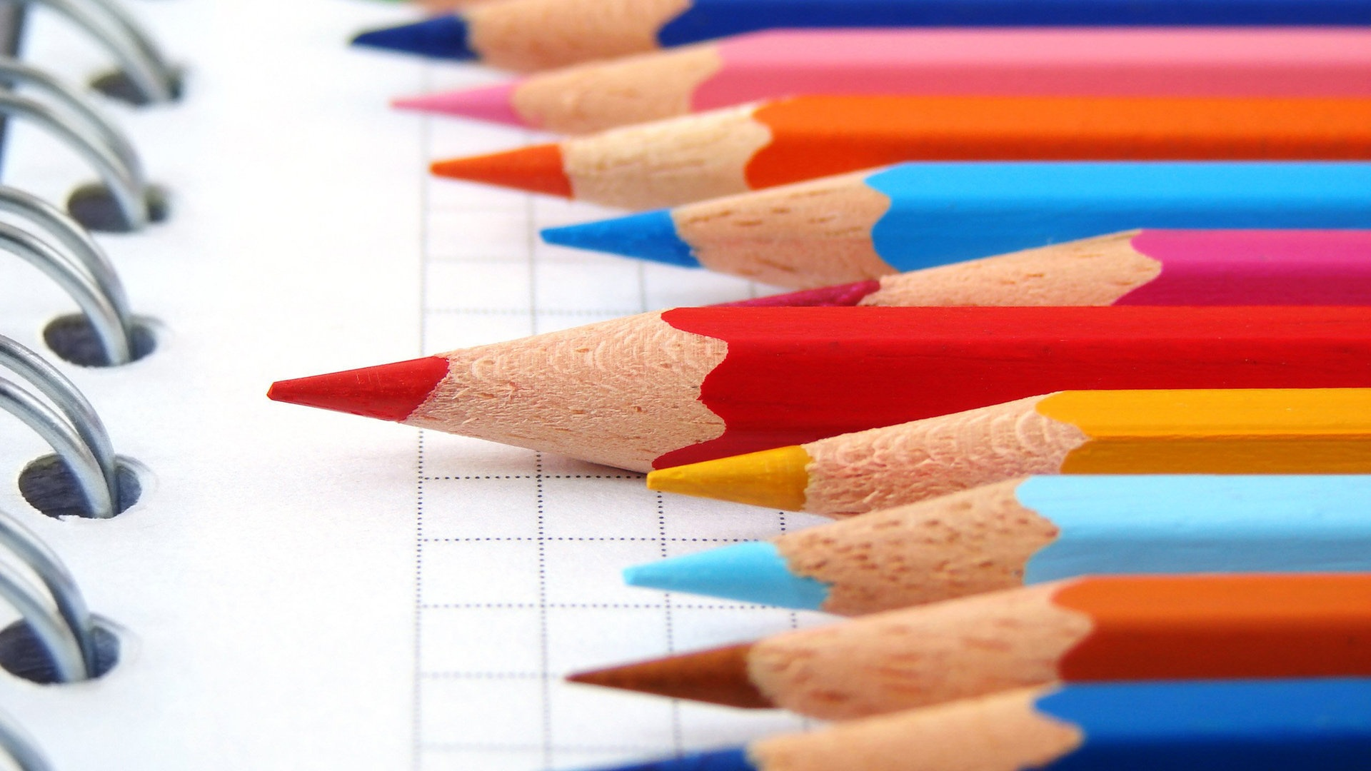 Hình nền Powerpoint bút chì 3d đẹp