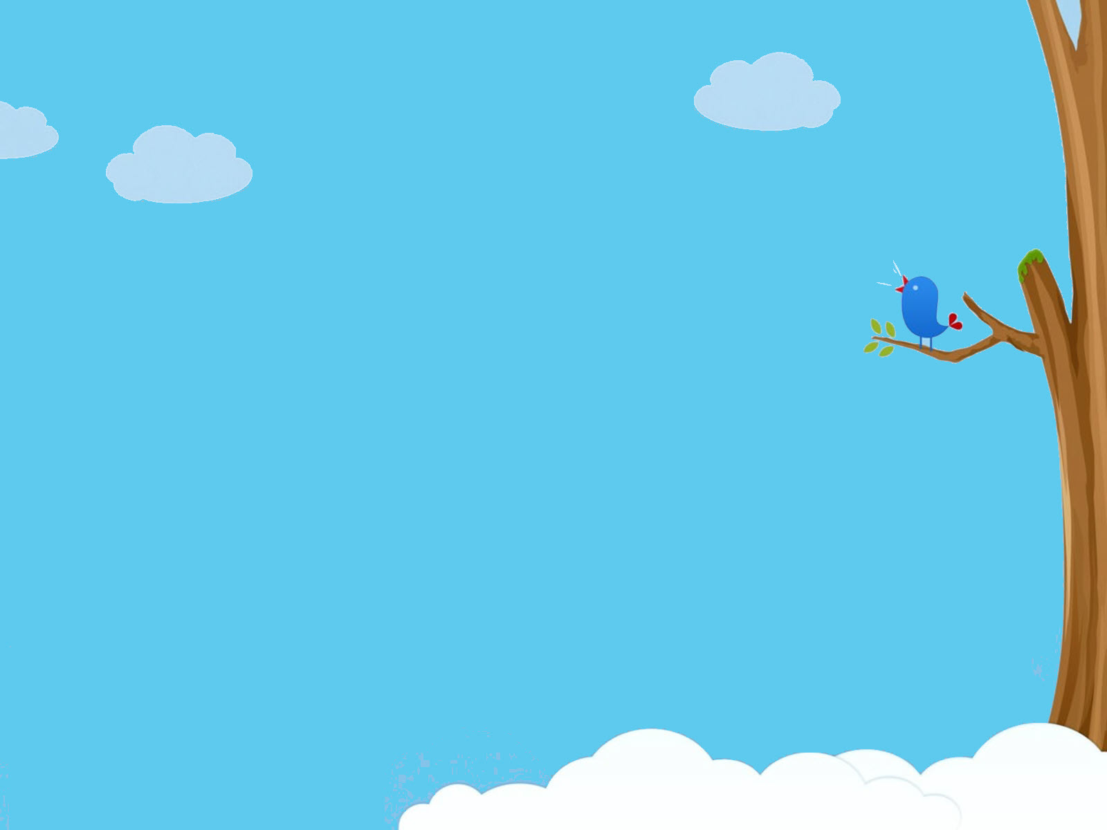 Hình nền Powerpoint màu xanh dương