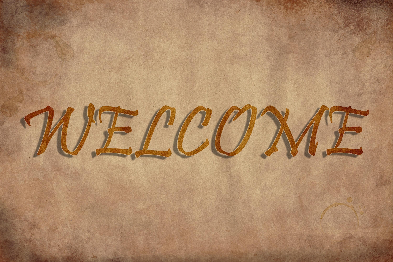 Hình ảnh nền mở đầu Powerpoint welcome đẹp