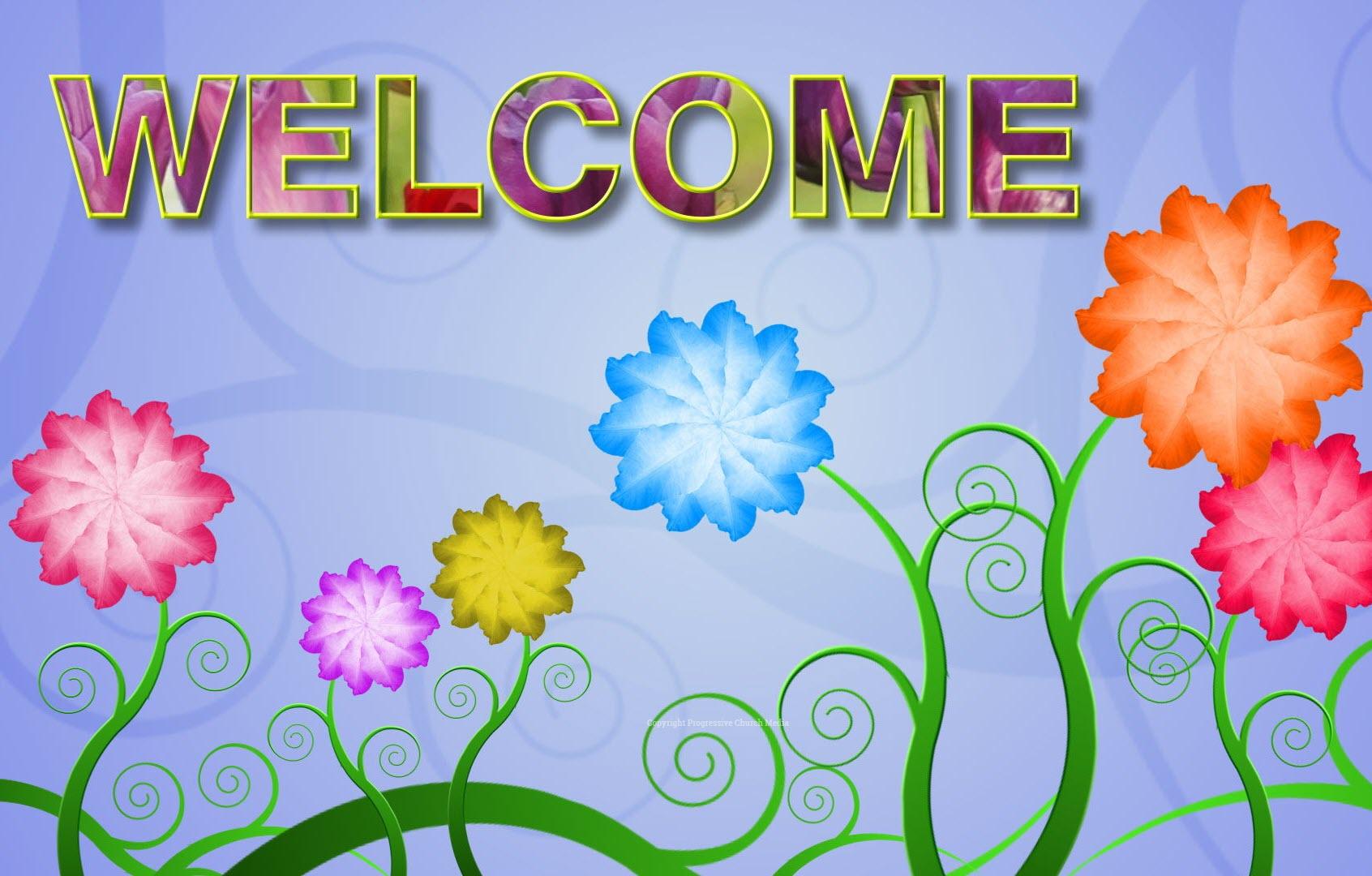Hình nền Powerpoint welcome mở đầu đẹp