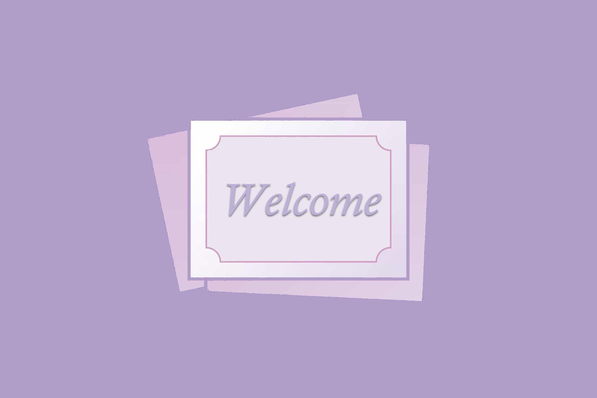 Hình nền Slide Powerpoint welcome mở đầu đẹp
