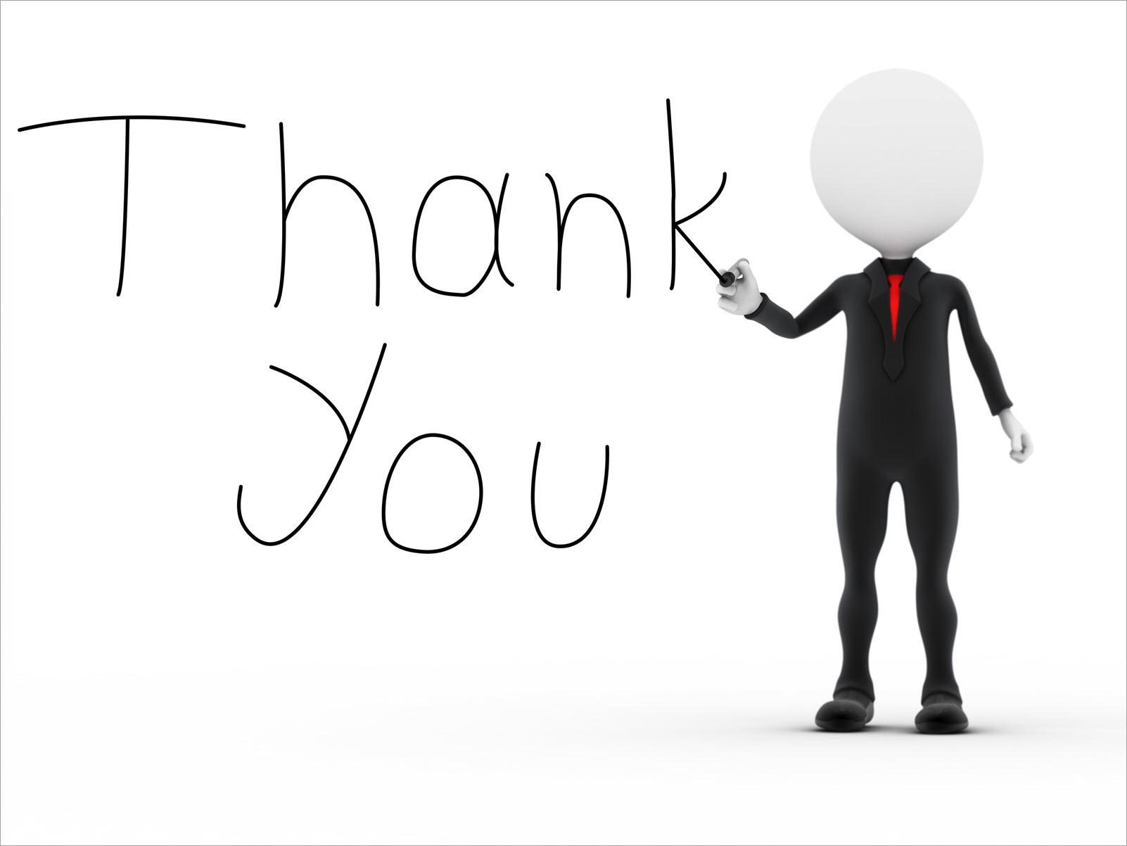 Nền pp thank you đẹp