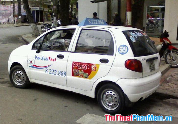 Giá cước taxi Vạn Xuân