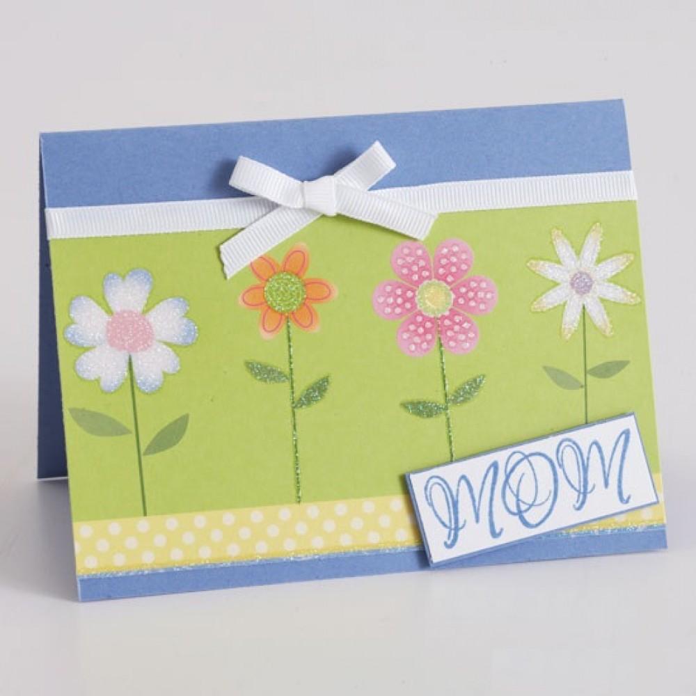 Thiệp handmade tự làm bằng tay nhân ngày mùng tám tháng ba của bé tặng cho mẹ
