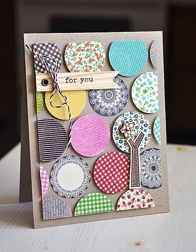 Thiệp handmade với trang trí tinh xảo tặng nhân dịp mùng 8 tháng 3