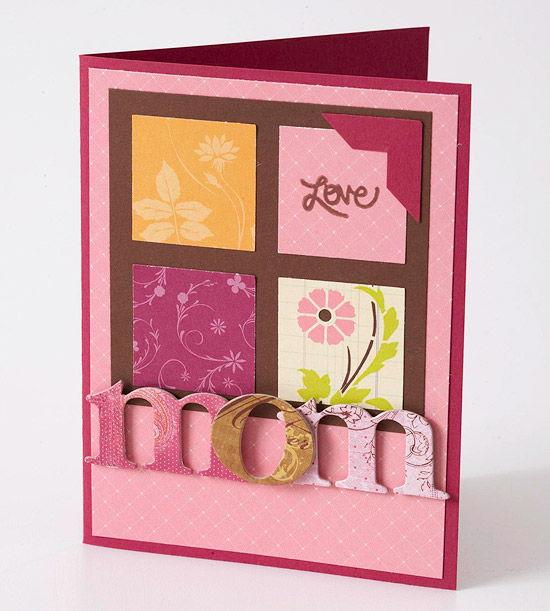Thiệp mùng tám tháng ba và con yêu mẹ nhất được làm handmade rất đẹp mắt