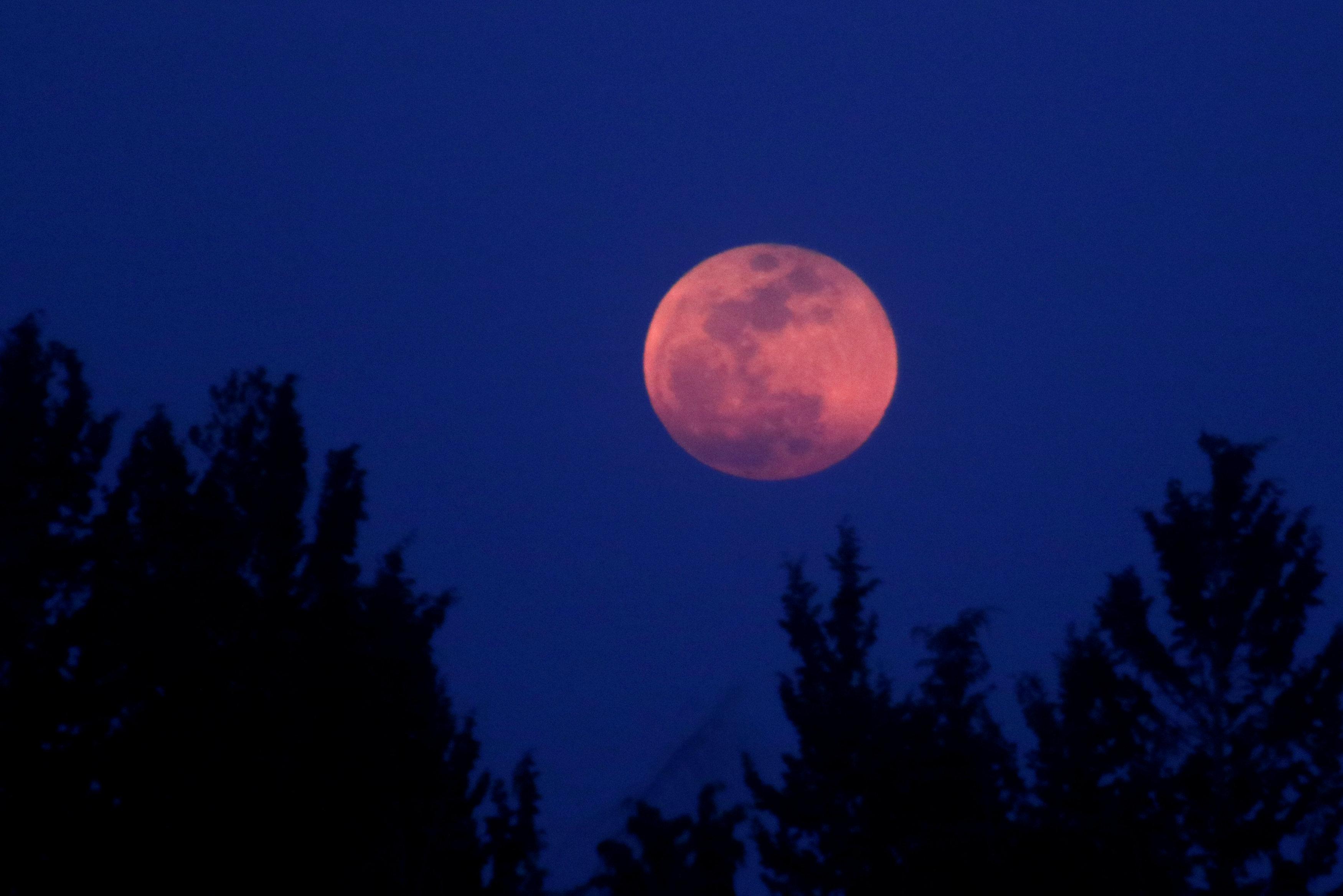 Hình ảnh Blood Moon đẹp