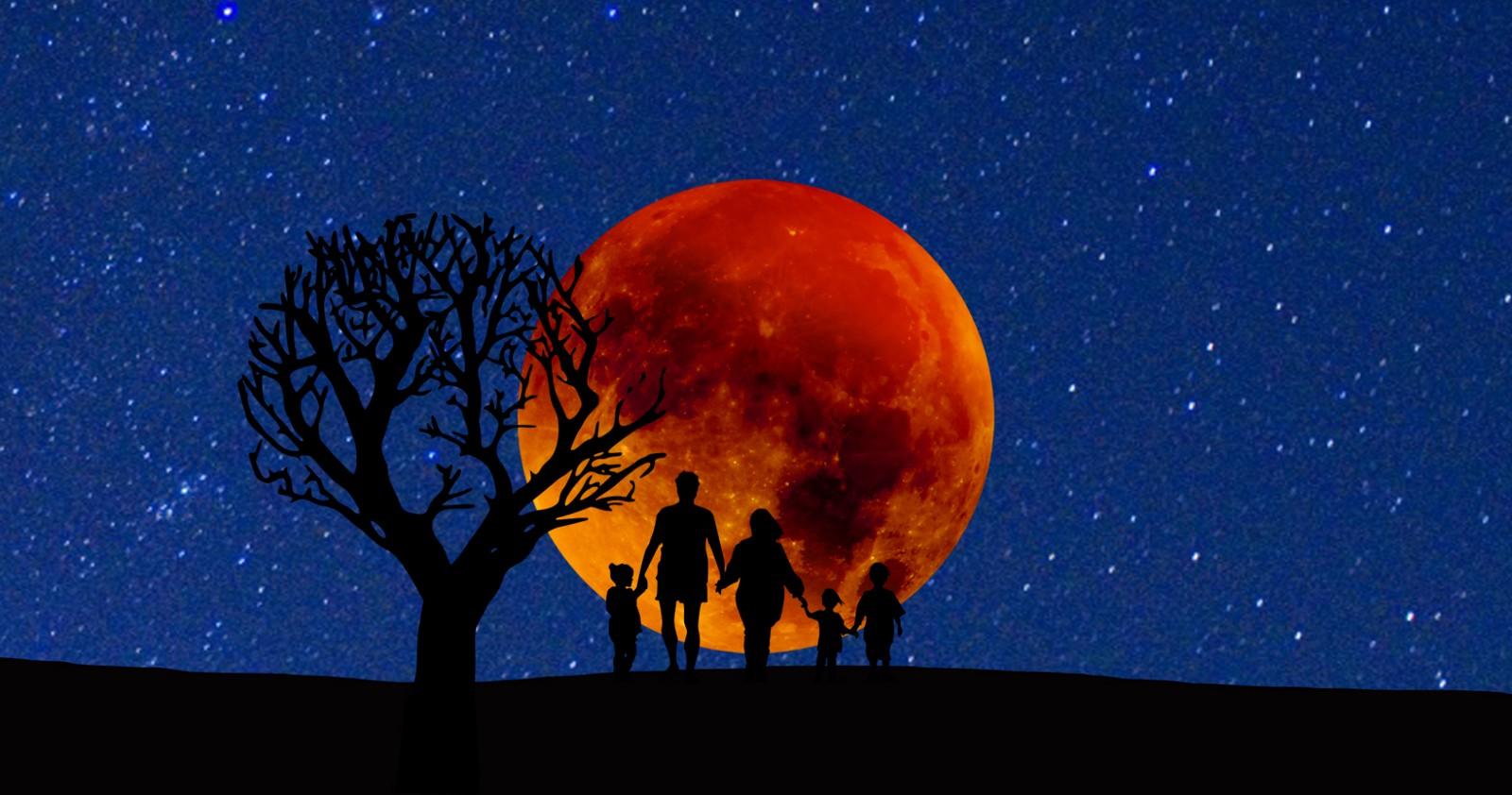 Hình mặt trăng cực đẹp