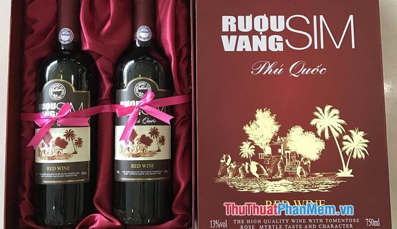 Đặc sản rượu sim rừng Phú Quốc