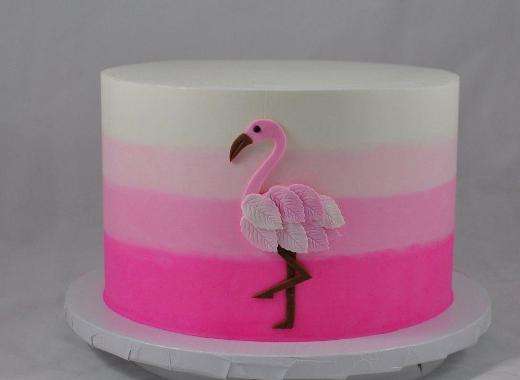 Hình ảnh bánh kem chim hồng hạc dễ thương và đẹp nhất