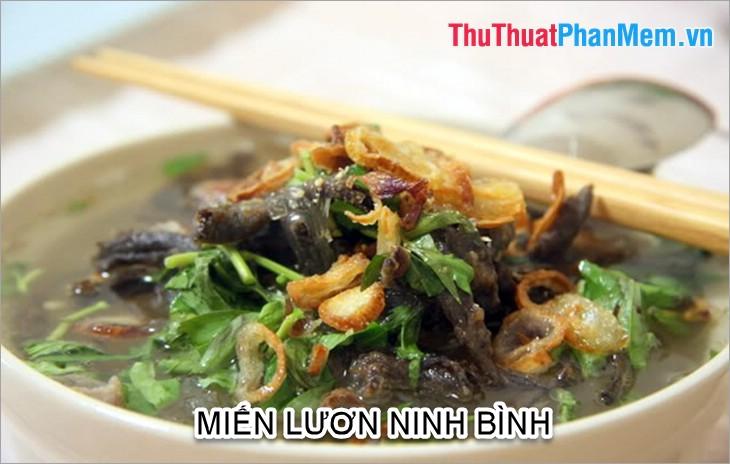 Miến lươn Ninh Bình
