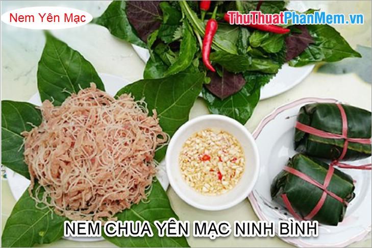 Nem chua Yên Mạc Ninh Bình