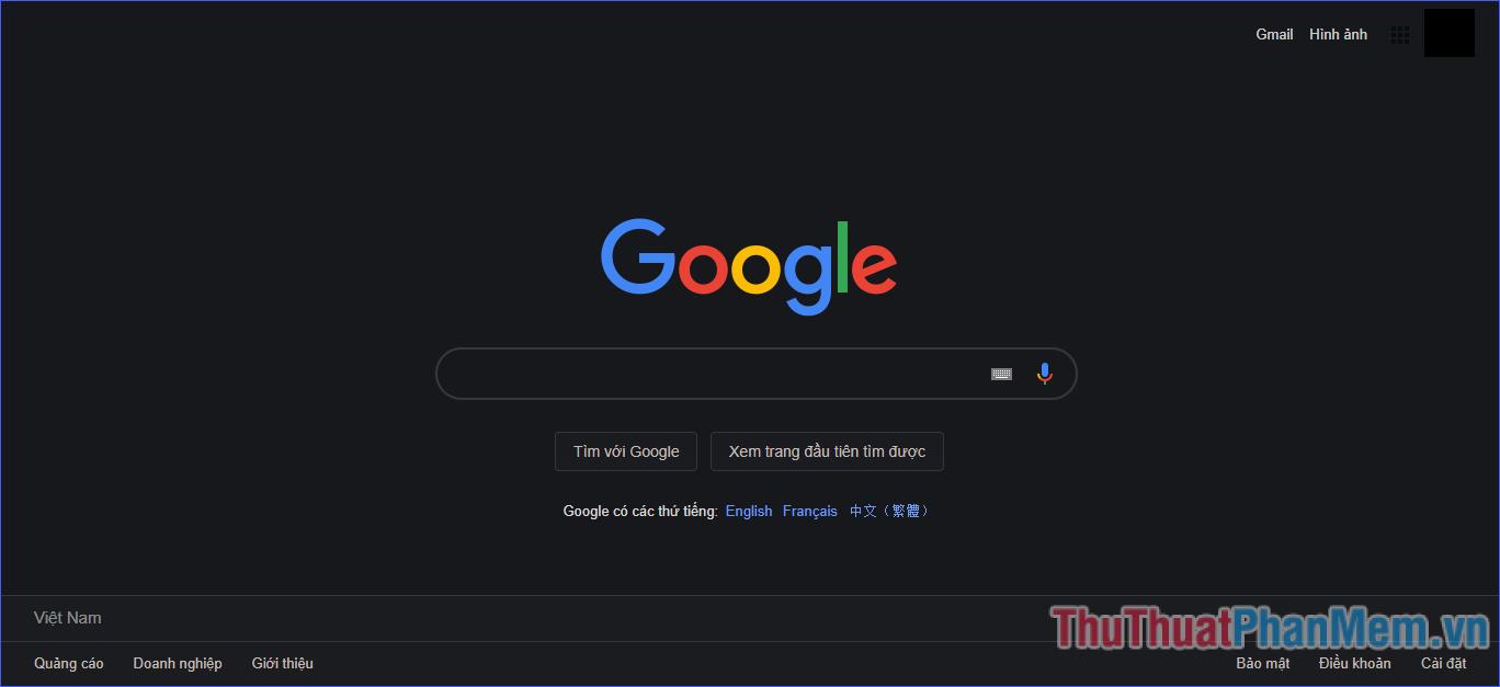Giao diện Chrome